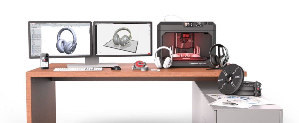 Makerbot ambiente lavoro